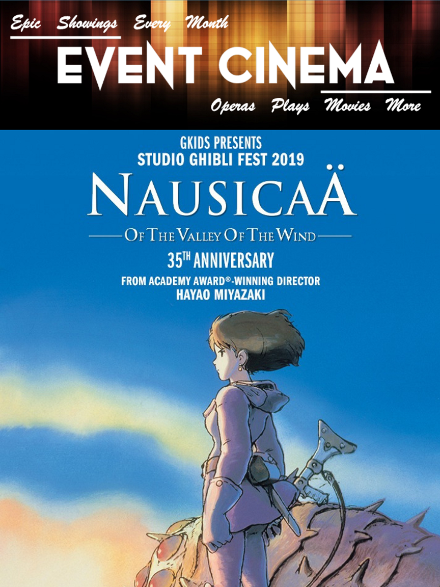 Poster of Nausicaä of the Valley of the Wind - Studio Ghibli