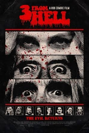Poster of Rob Zombie's 3 From Hell - Night Two