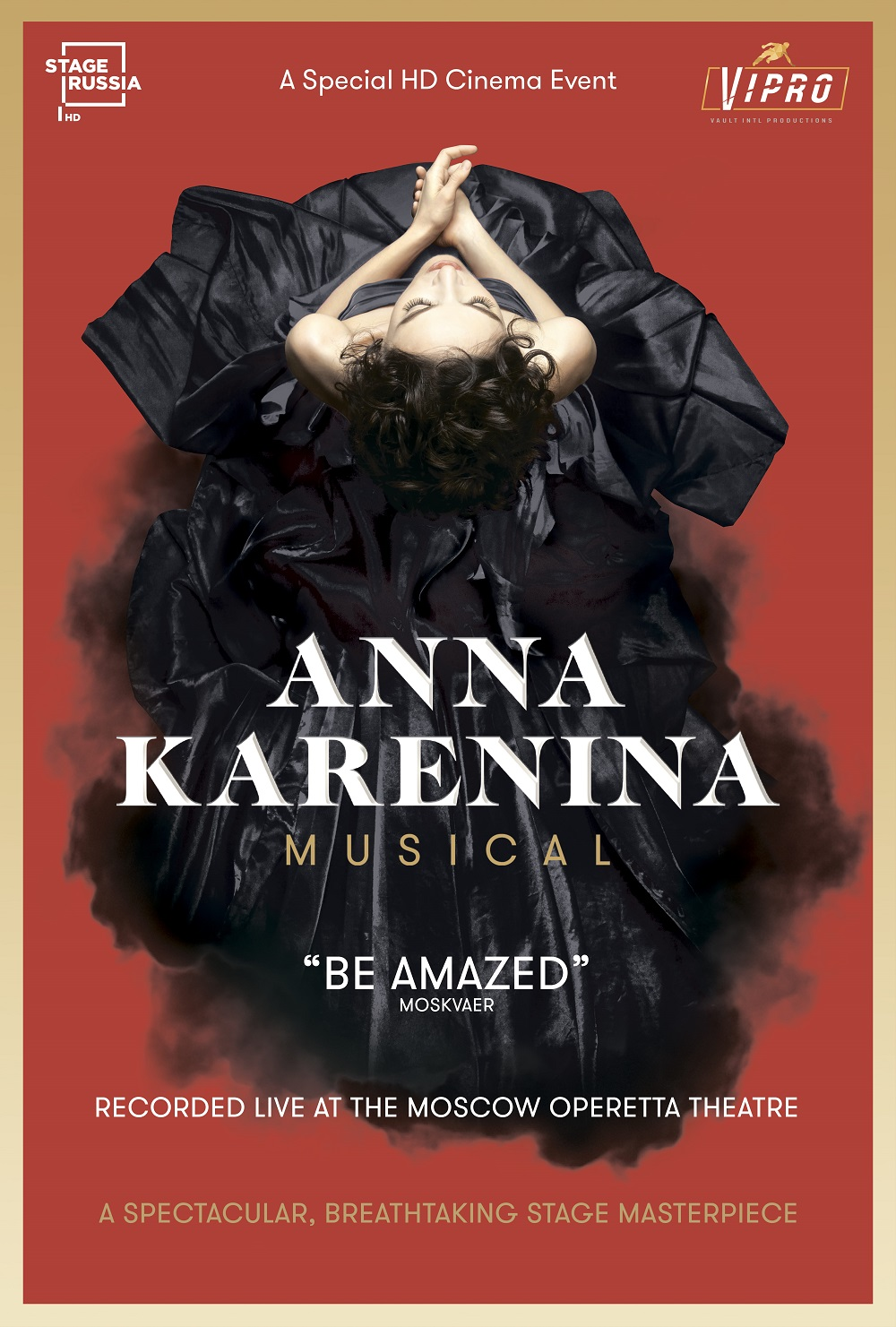 Poster for Anna Karenina. Musical