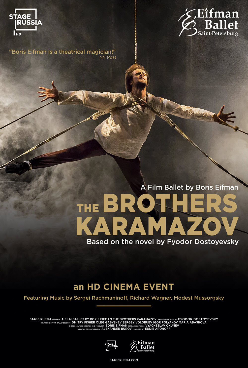 Poster for Stage Russia: The Brothers Karamazov