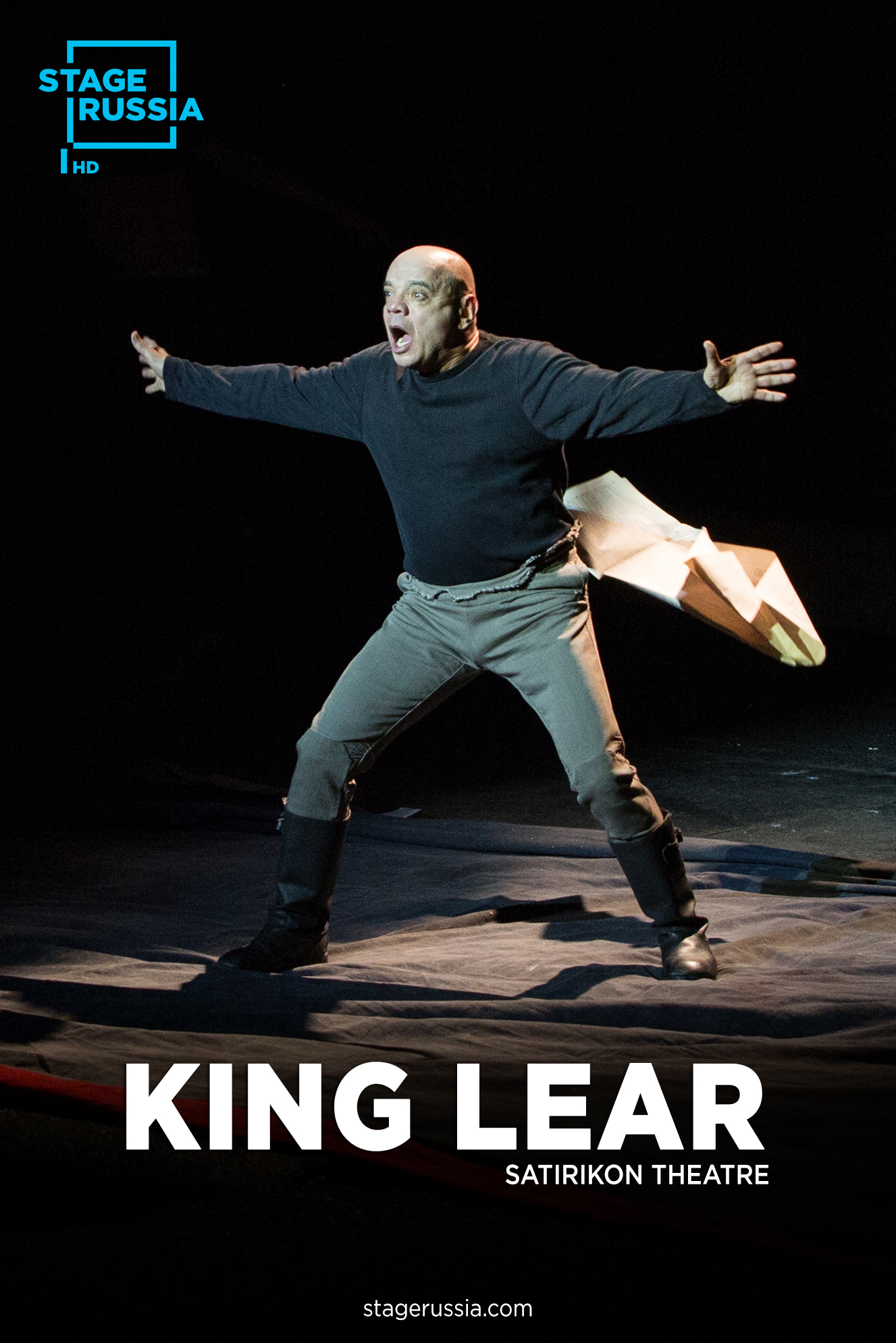 Poster for Stage Russia: King Lear