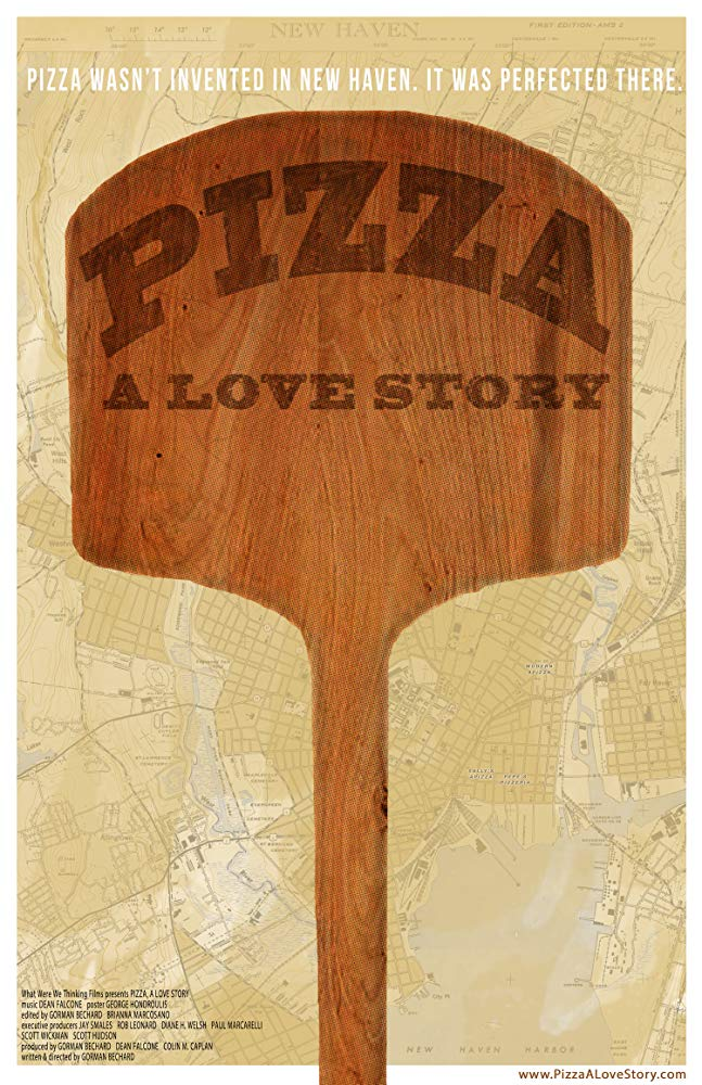 Poster for Pizza, a Love Story
