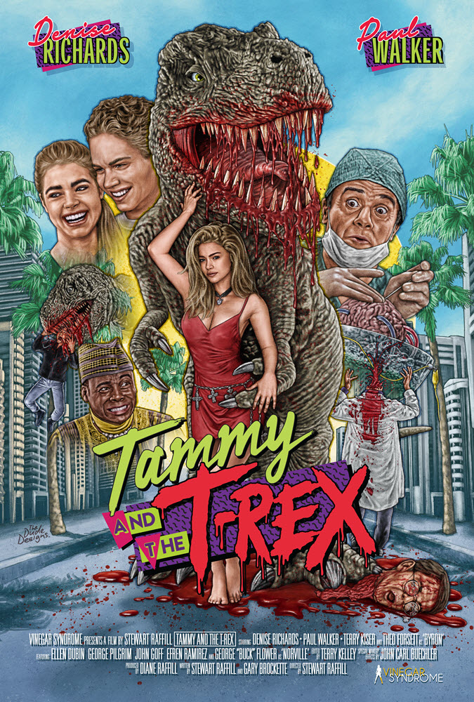 Poster for Tammy and the T-Rex