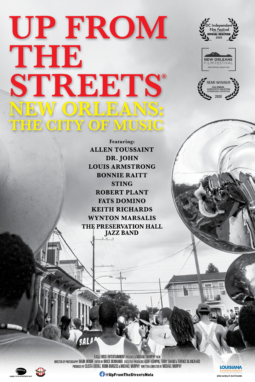 Poster for Up From The Streets: New Orleans: The City of Music