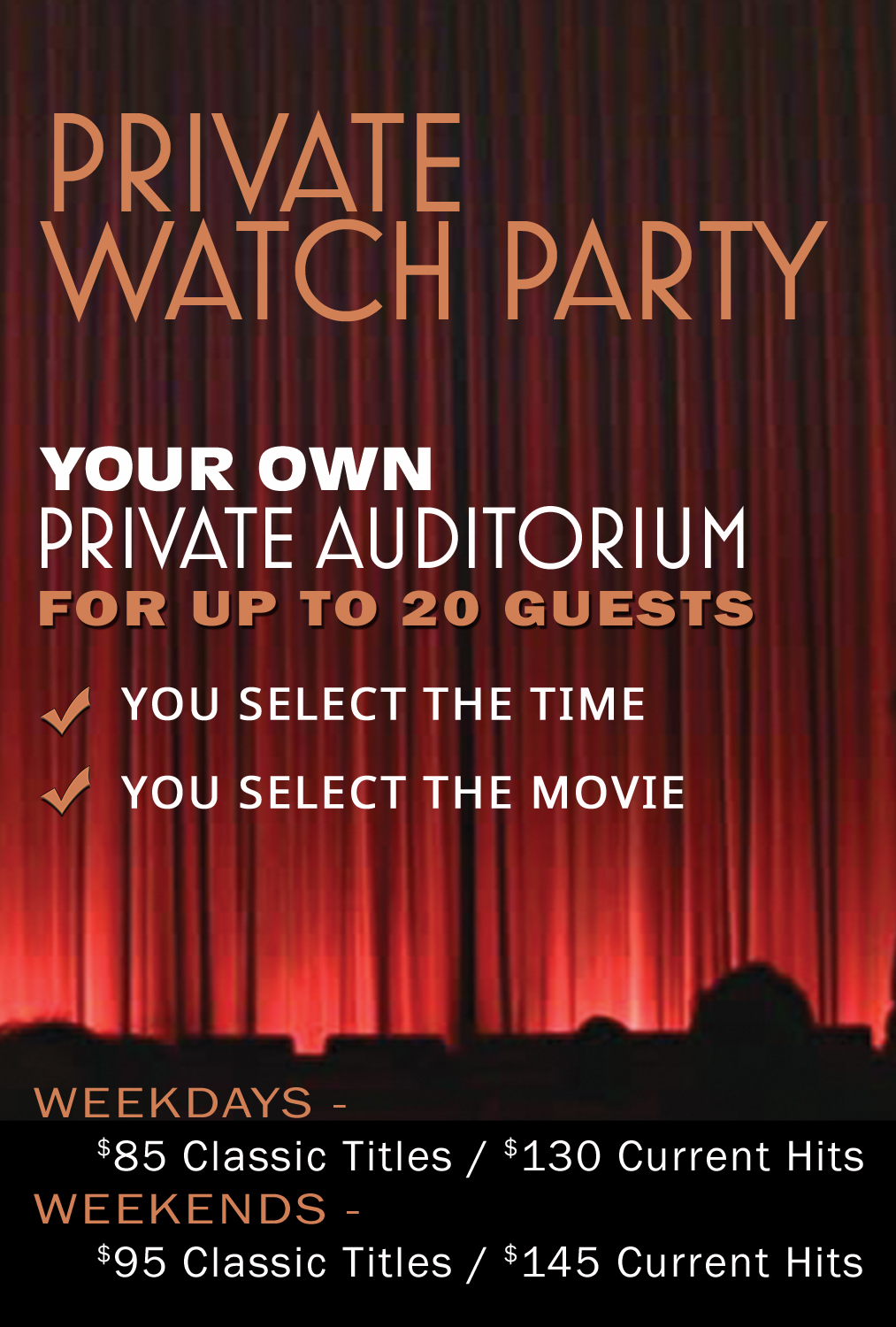 Still of Private Watch Party (20 Guests)