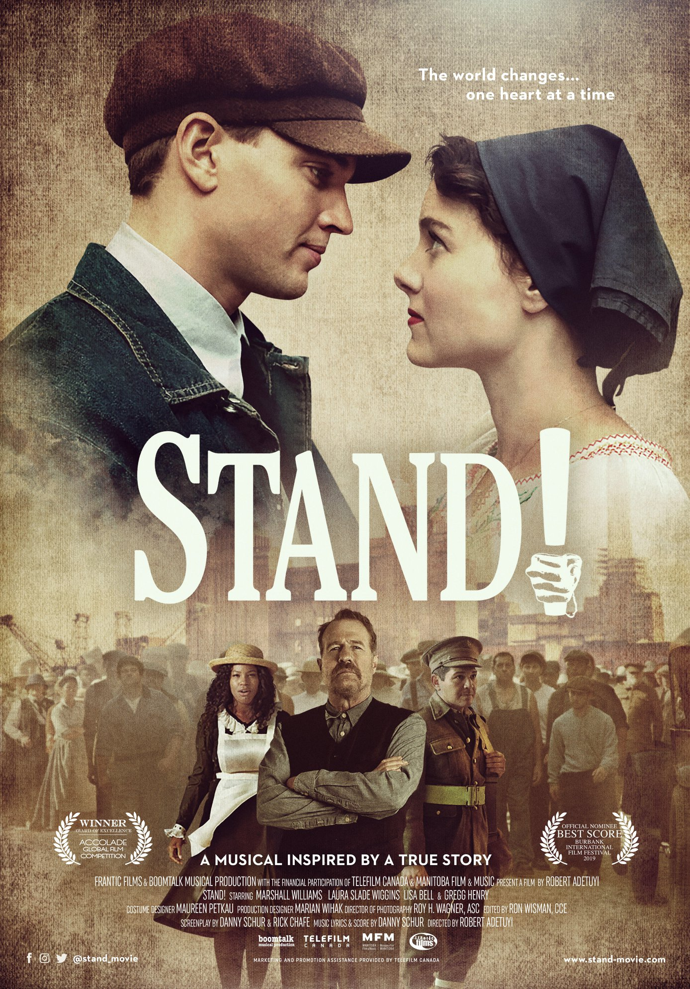 Still of Stand! Movie Musical