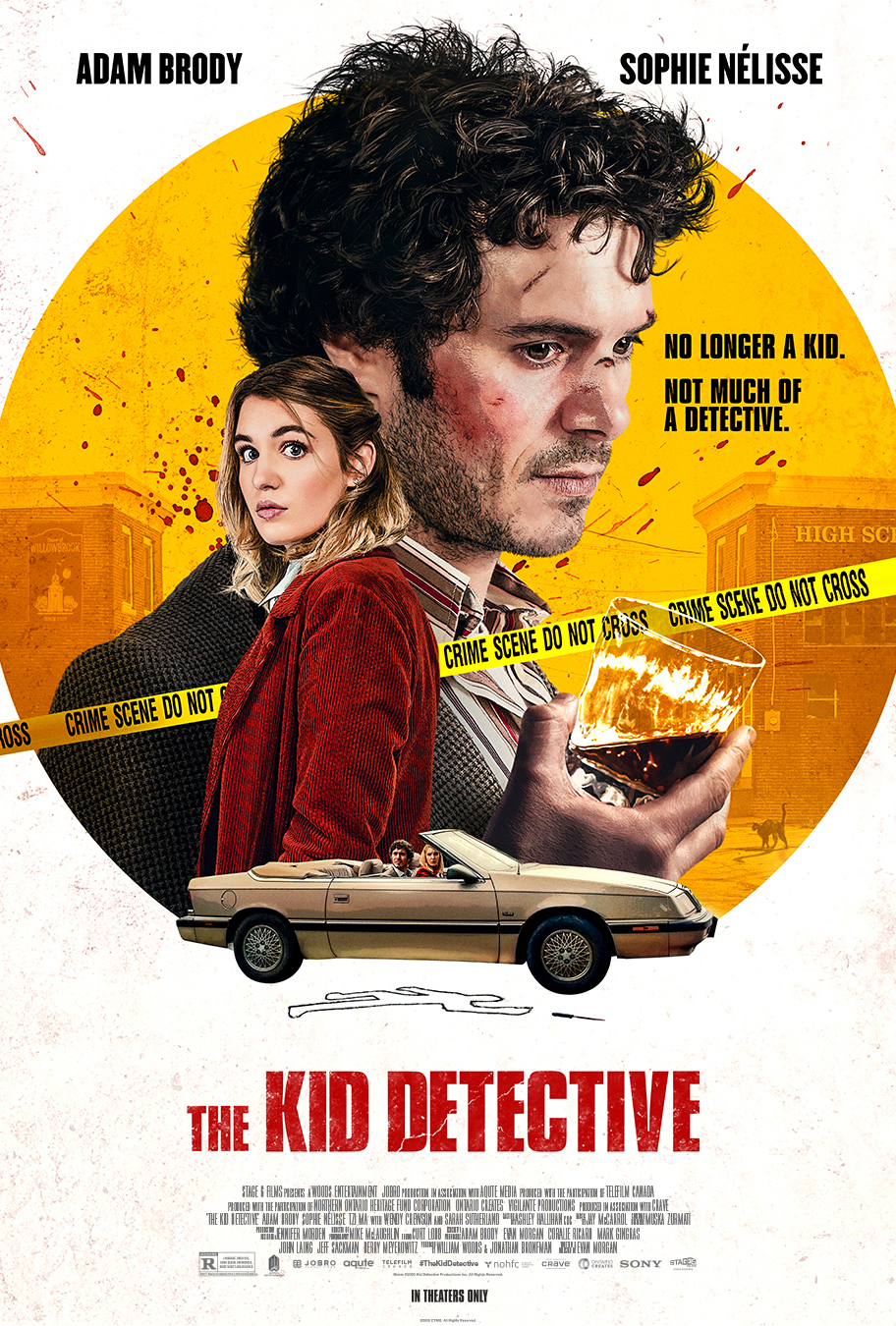 The Kid Detective Poster
