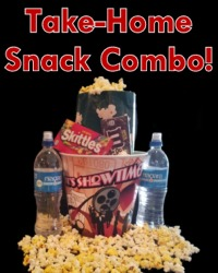 Take Home Snack Combo Poster