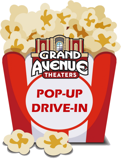 Pop-Up Drive In Poster