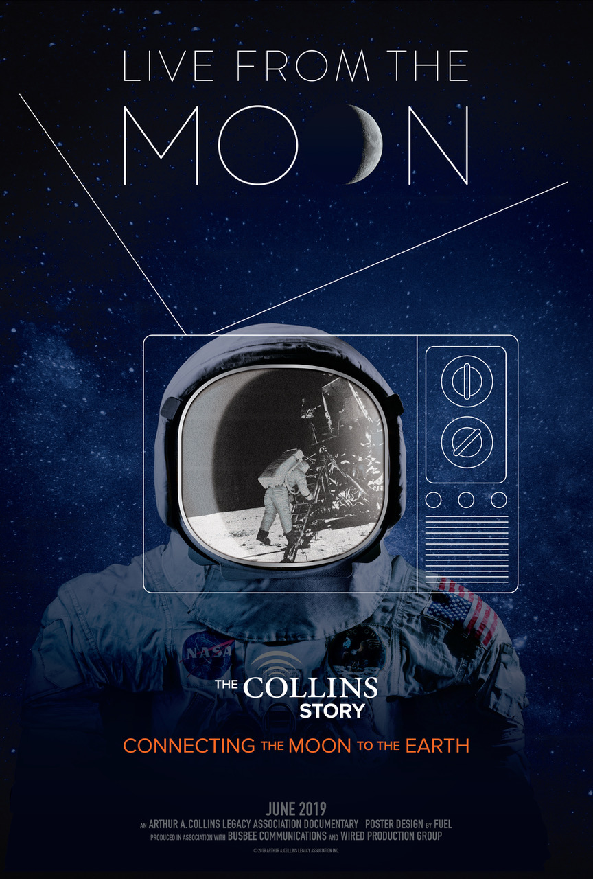Poster of The Collins Story: Live from the Moon