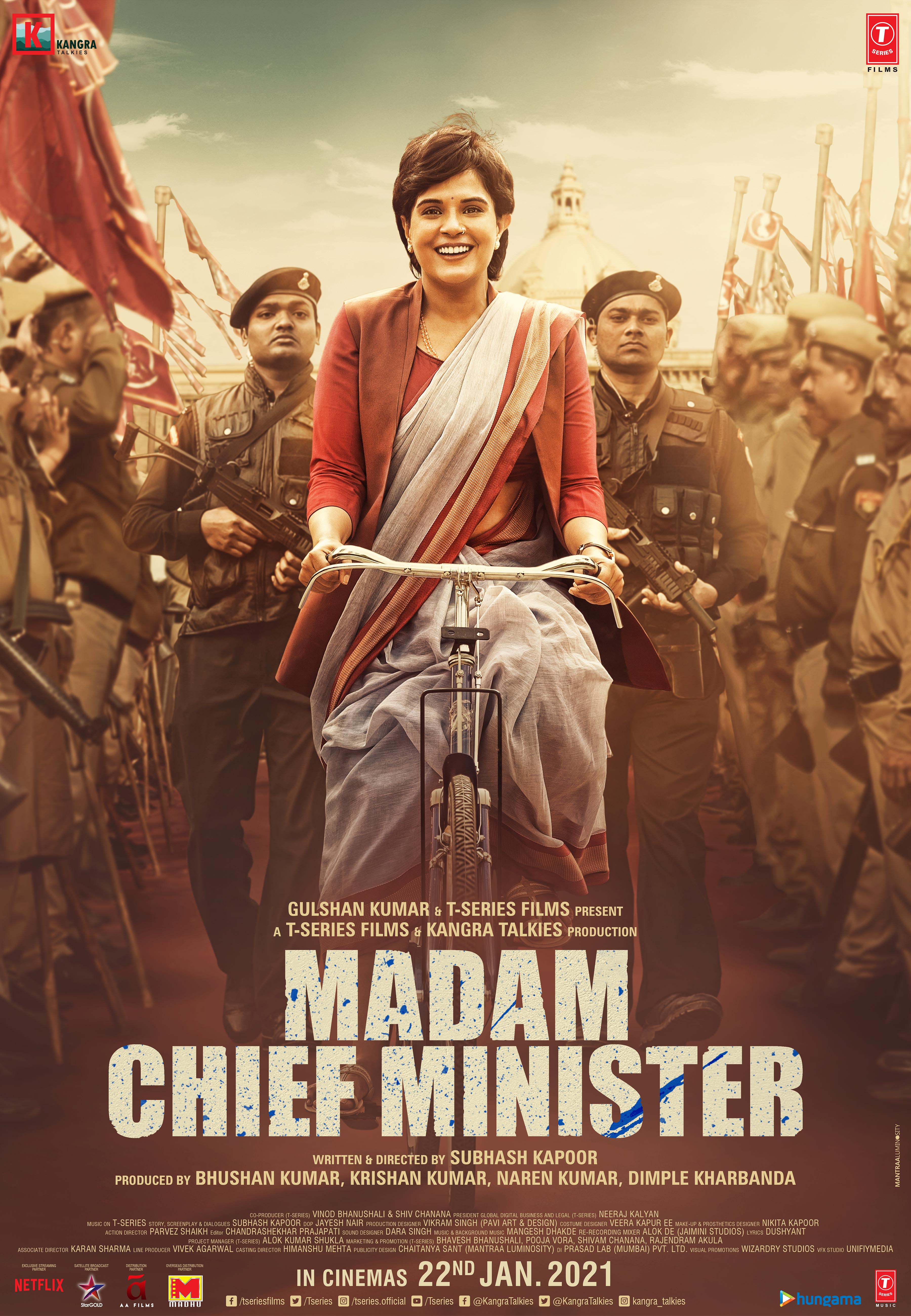 Madam Chief Minister Poster