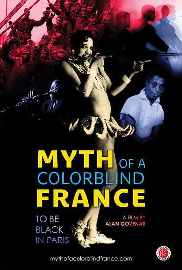 Poster for Myth of a Colorblind France