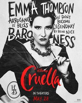 Character sheet #2 for Cruella