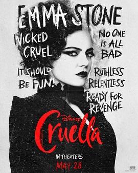 Character sheet #3 for Cruella