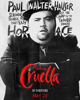 Character sheet #4 for Cruella