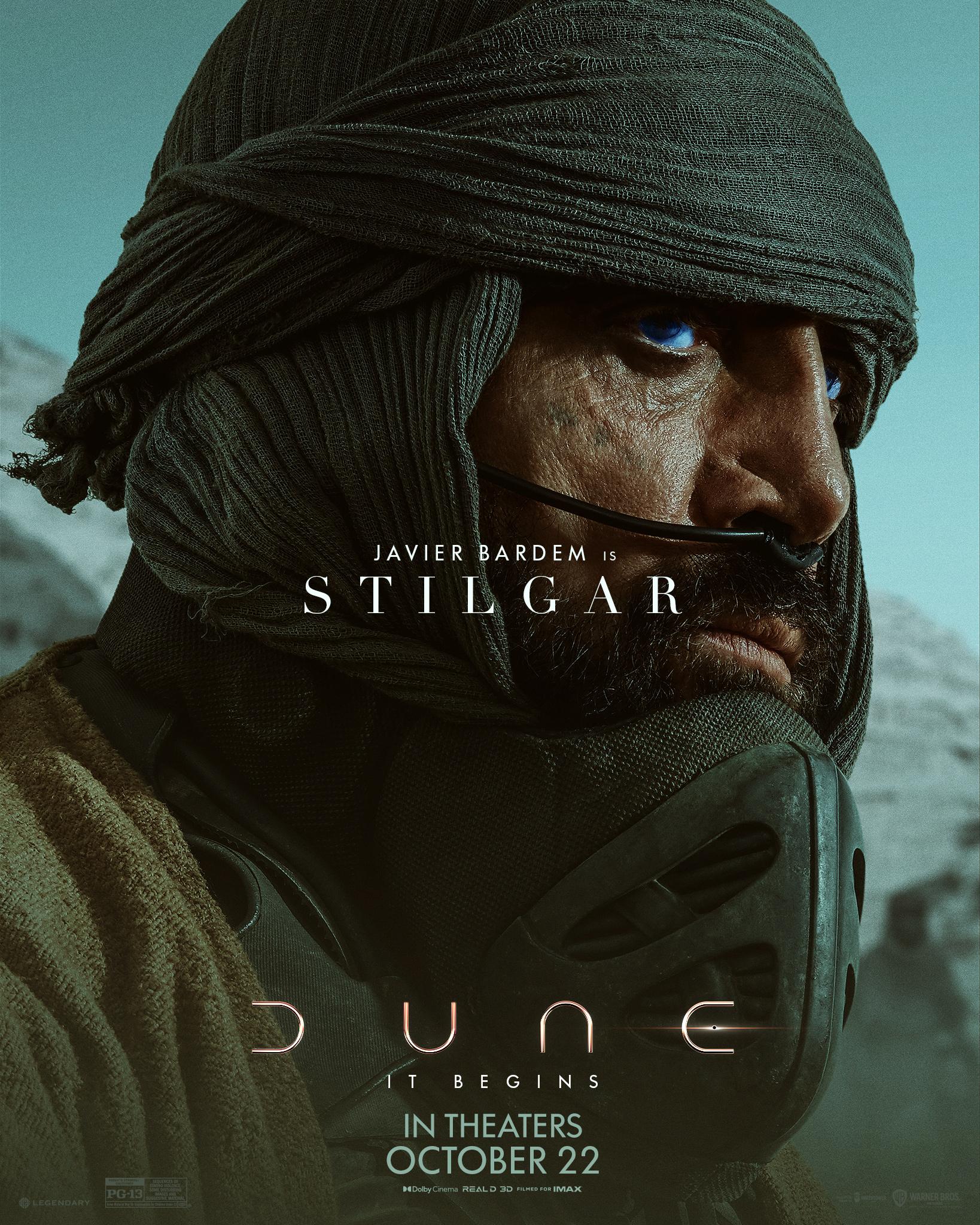 Character sheet #7 for Dune