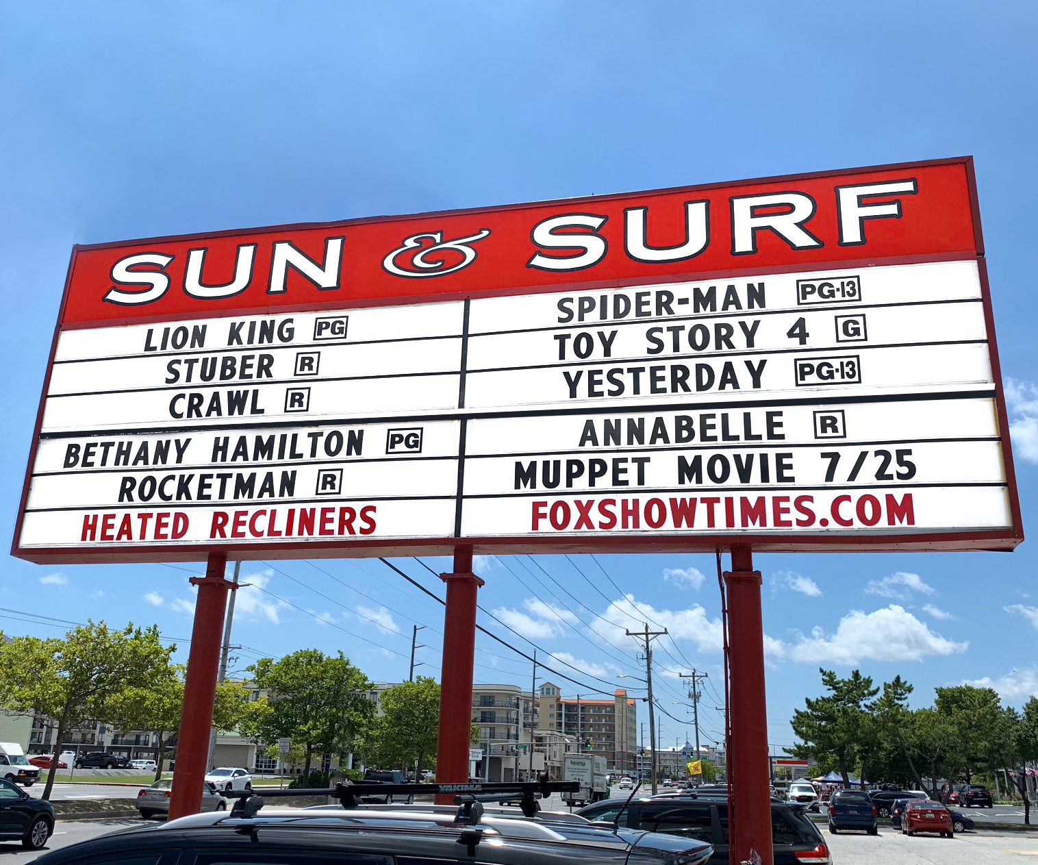 SUN & SURF CINEMA<br>Ocean City, MD
