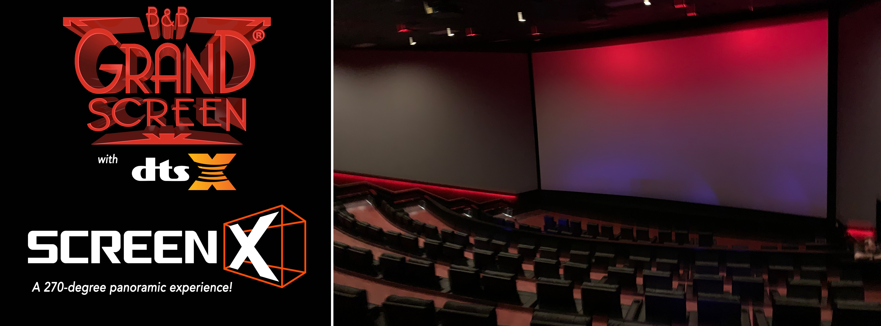 Photo 1 of Overland Park 16 with Grand Screen®, ScreenX, MX4D®, screenPLAY! and Lyric!