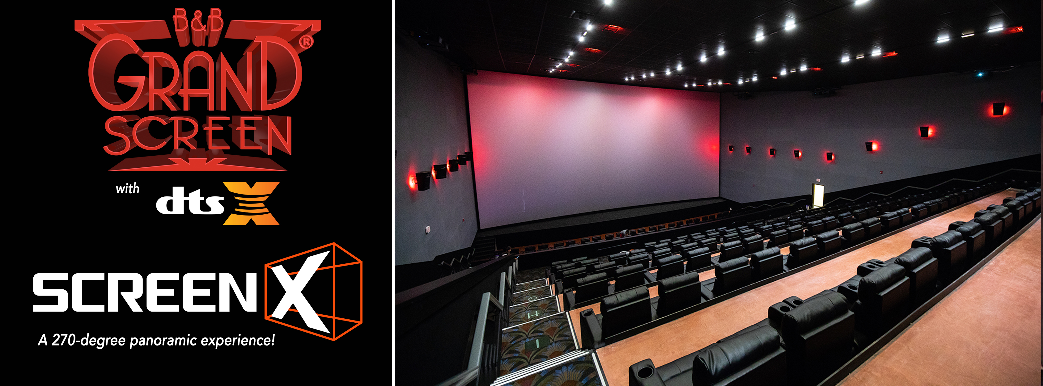 Photo 1 of Liberty Cinema 12 with Grand Screens®, MX4D®, ScreenX, screenPLAY! and Lyric!