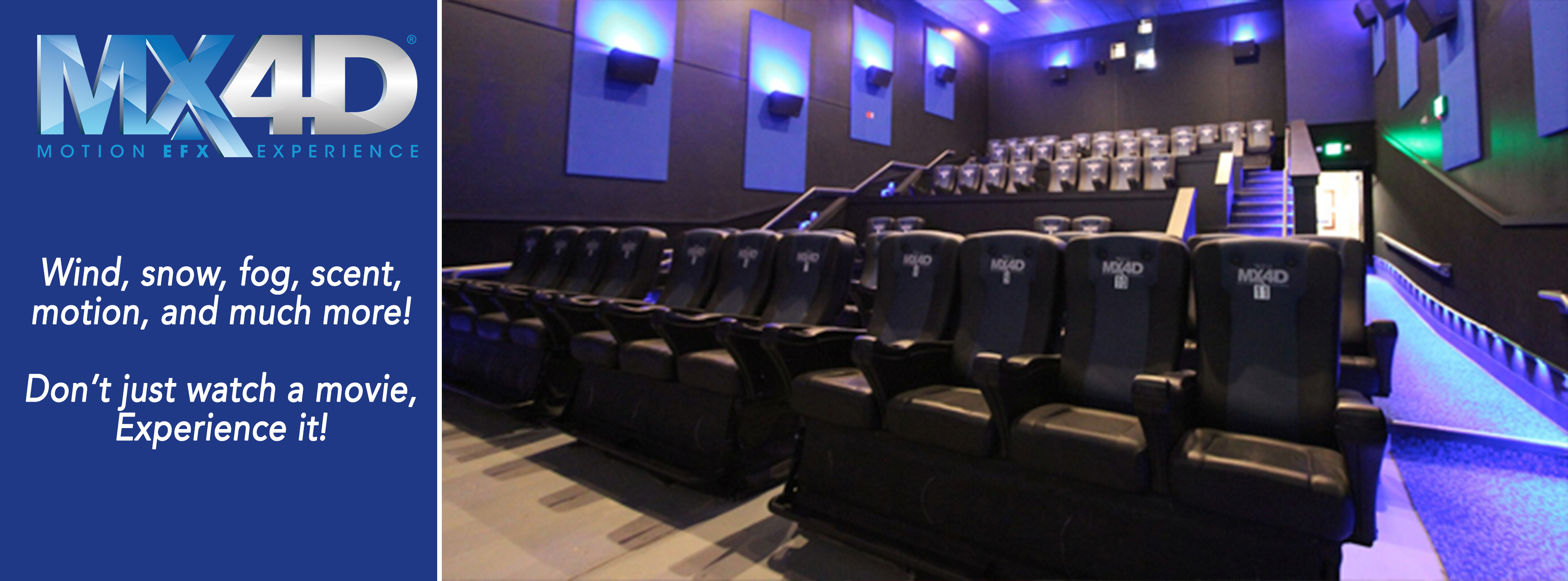 Photo 2 of Liberty Cinema 12 with Grand Screens®, MX4D®, ScreenX, screenPLAY! and Lyric!