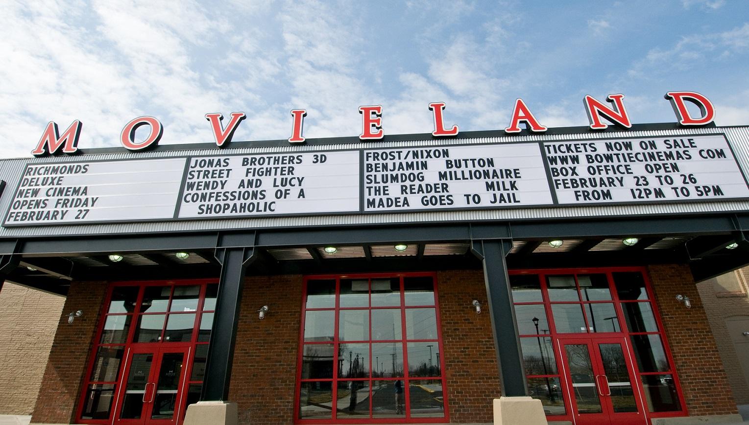 Movieland At Boulevard Square Bow Tie Cinemas