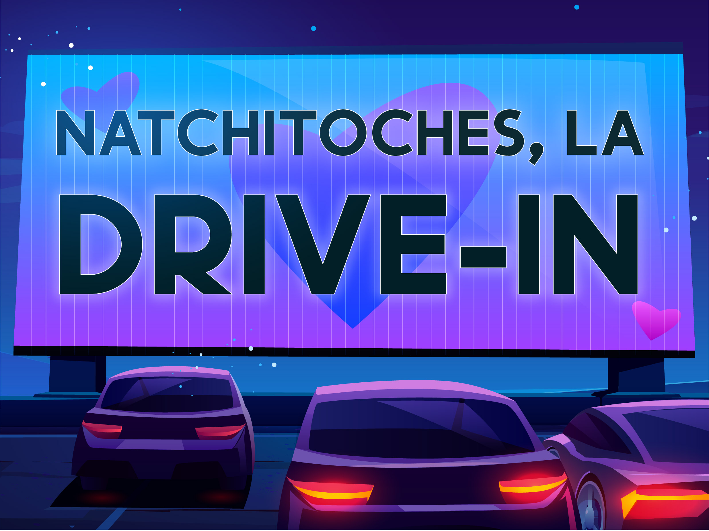 Image of Natchitoches, LA - Drive-In Cinema