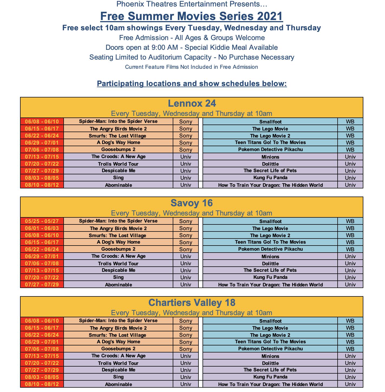 Phoenix Theatres Entertainment | Specials