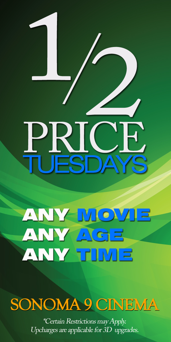 Half Price Tuesday