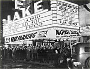 Lake Theatre Exterior Old