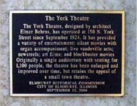 York Plaque