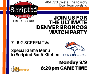 Broncos Watch Party 9.9 game
