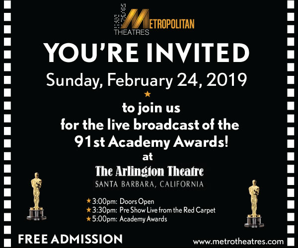 Arlington Theatre Academy Awards Live Broadcast Event