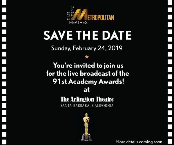 Arlington Theatre Academy Awards Live Broadcast Event