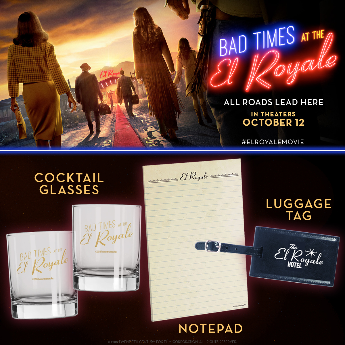Bad Times at the El Royale Sweepstakes