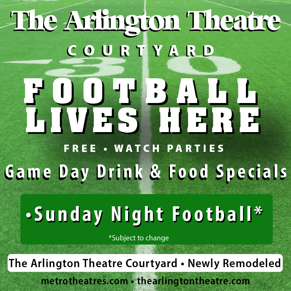 Sunday Night Football at Arlington Courtyard