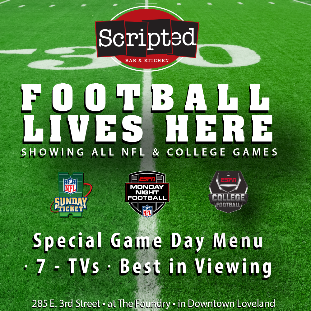 Football Watch Parties at Scripted Bar & Kitchen
