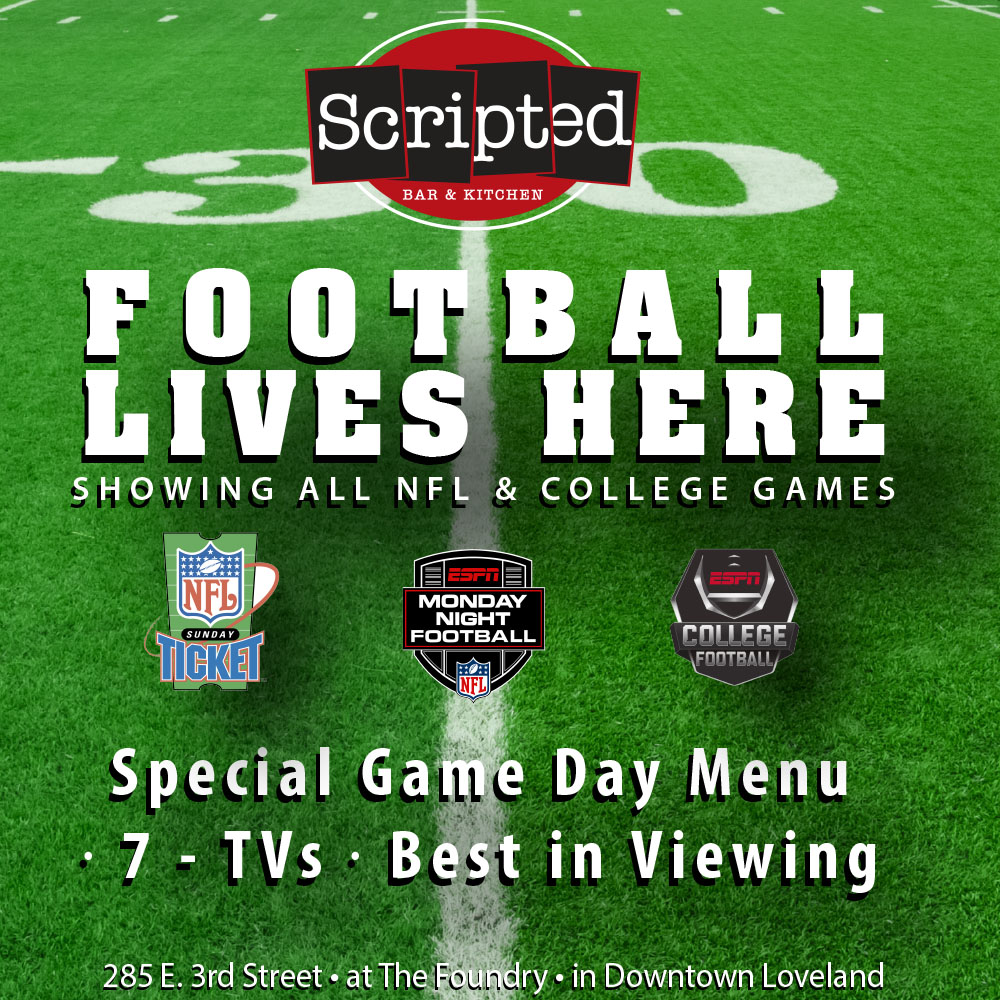Football watch events at Scripted Bar & Kitchen