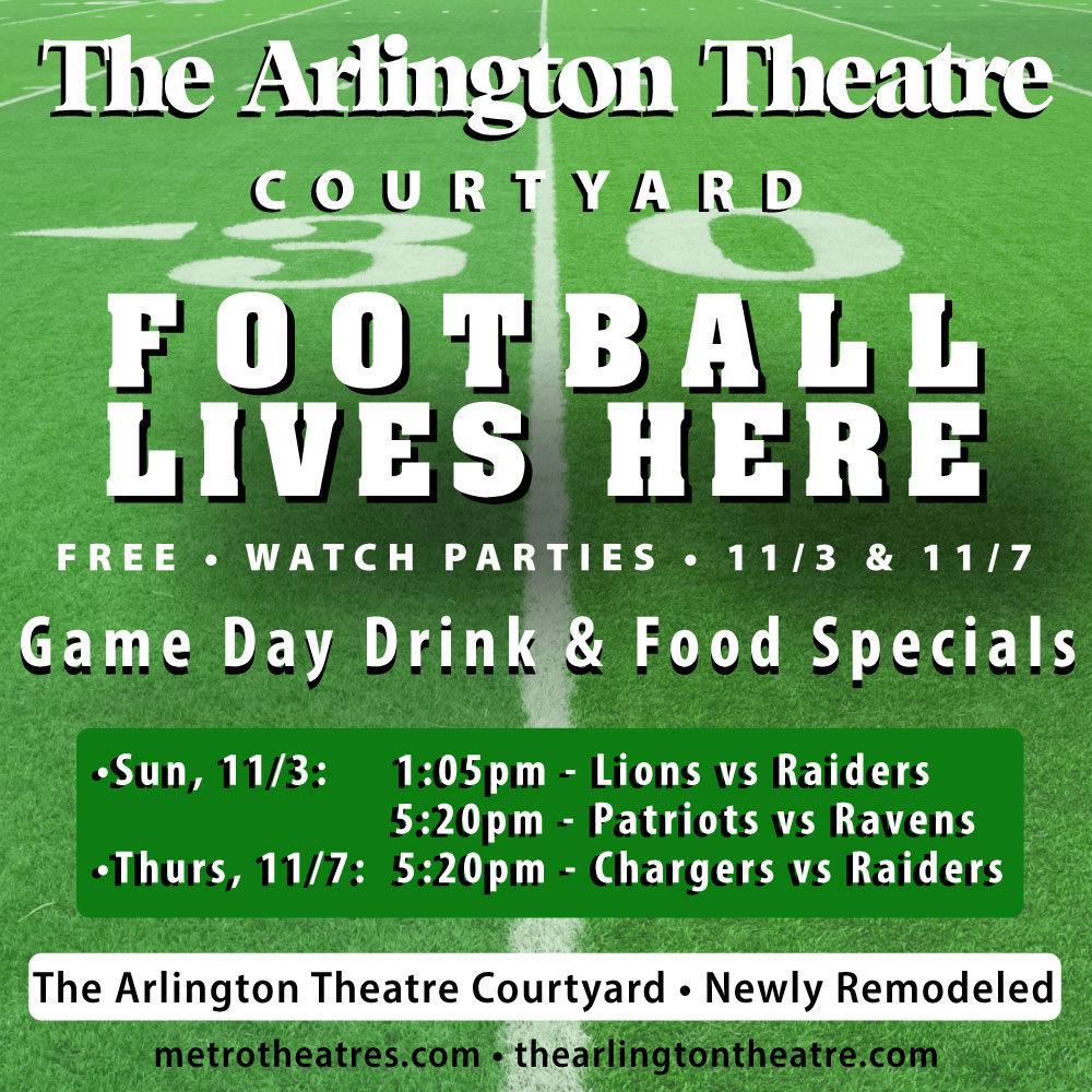 Football Watch Parties at The Arlington