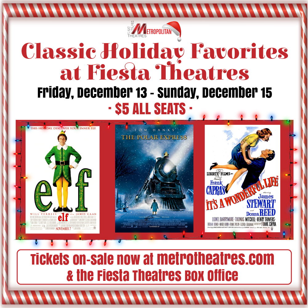 Holiday Classics 2019 at Fiesta Theatres