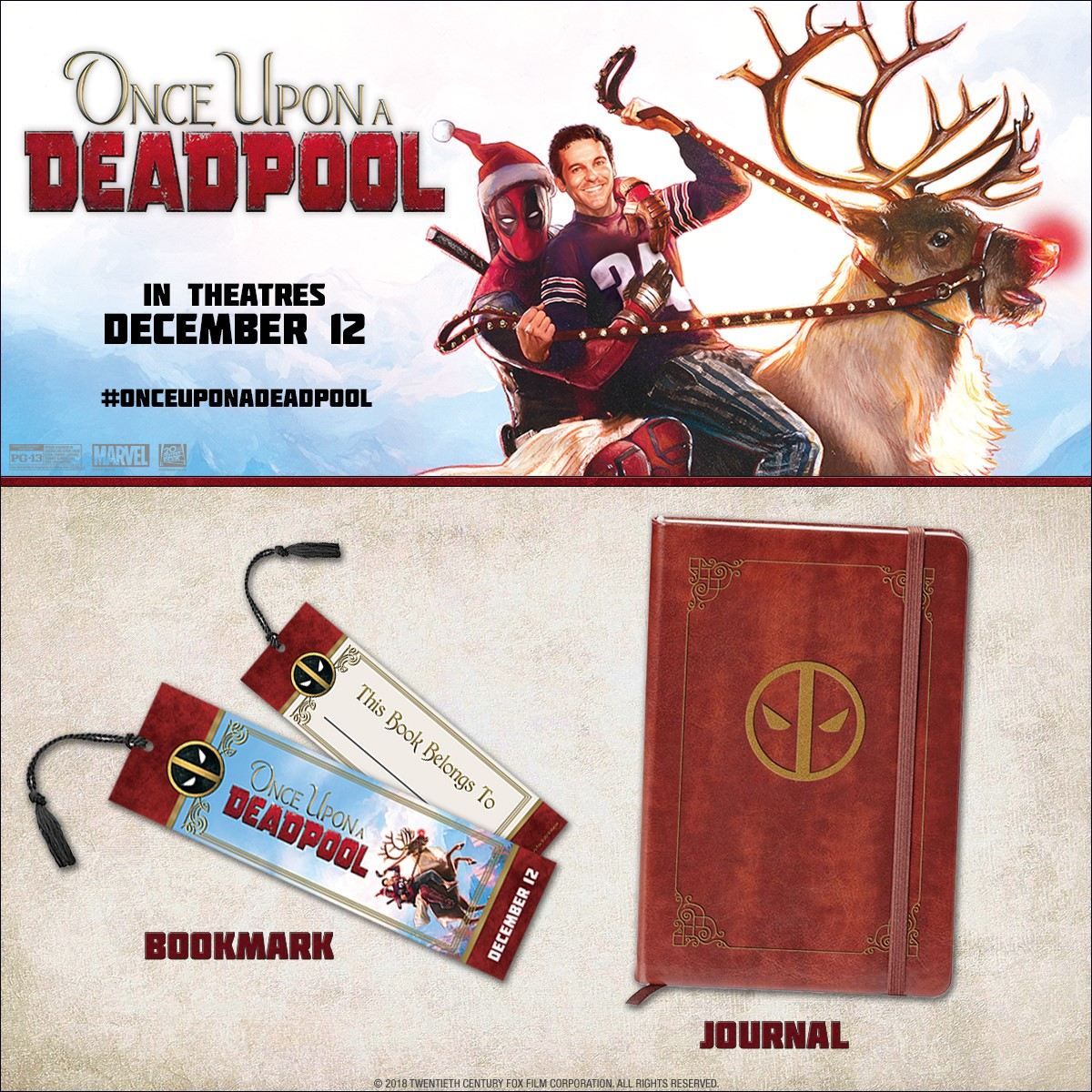 Once Upon a Deadpool Sweepstakes