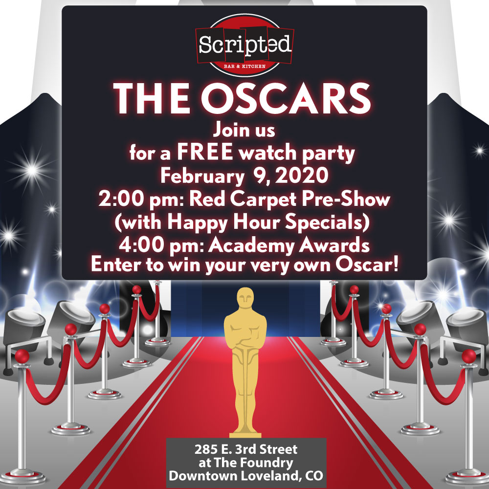 Oscar Watch Party at Scripted