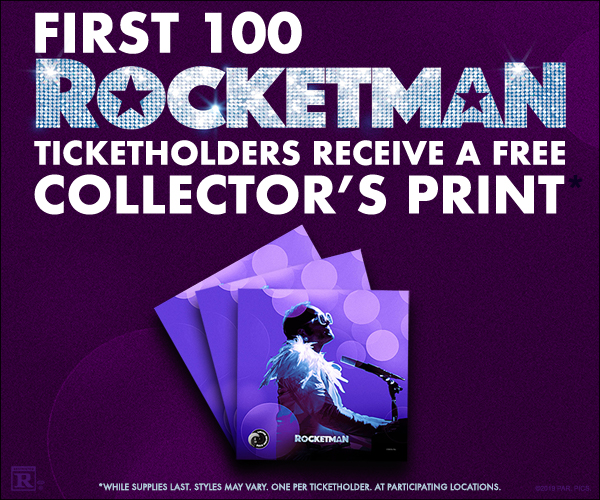 Rocketman Collector's Print