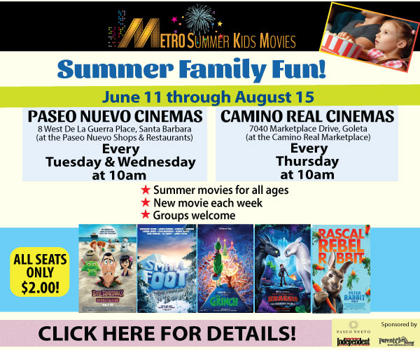 Metro Summer Kids Movie Series