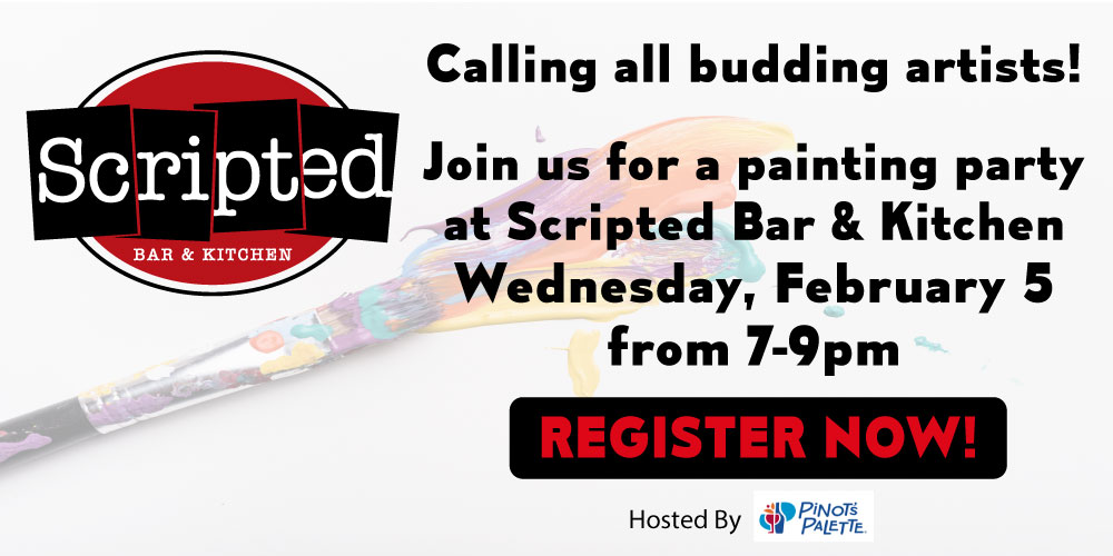 Painting Party at Scripted
