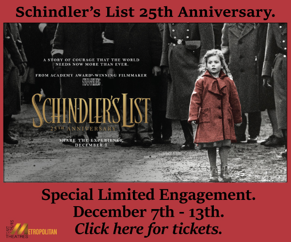 Schindler's List 25th Anniversary Release