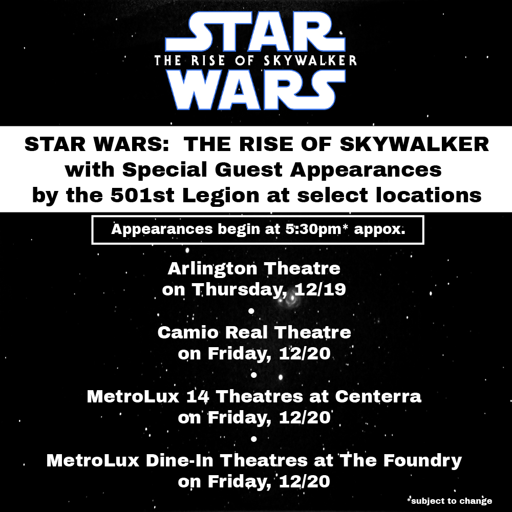 Star Wars Special Guests