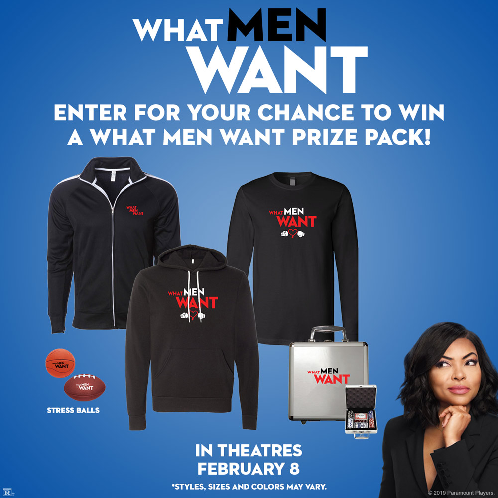 What Men Want Sweepstakes