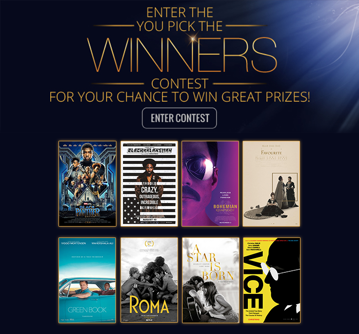 You Pick the Winners Sweepstakes