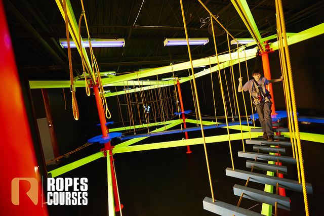 Ropes course example