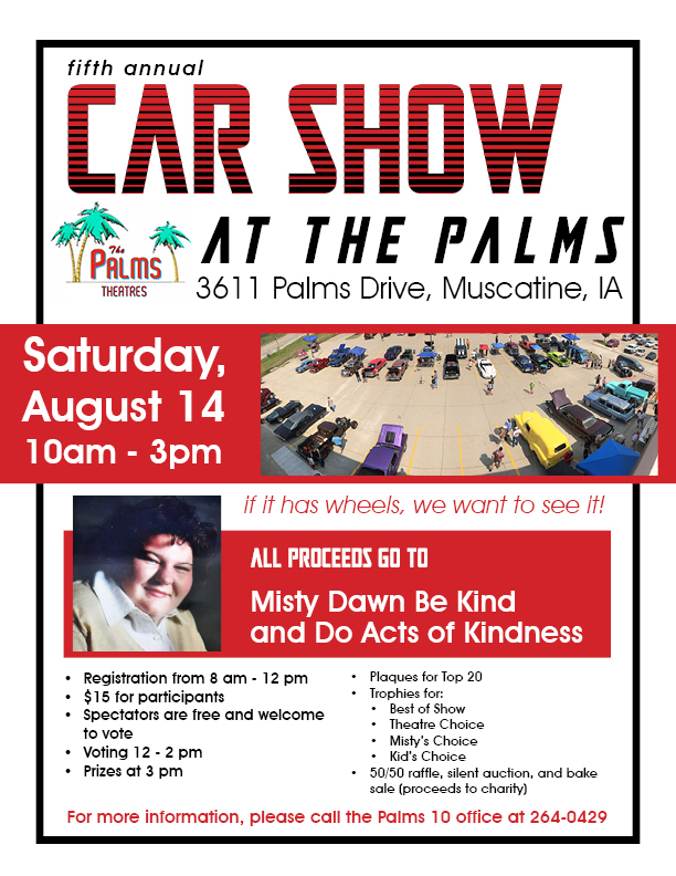 Fifth Annual Car Show at the Palms poster
